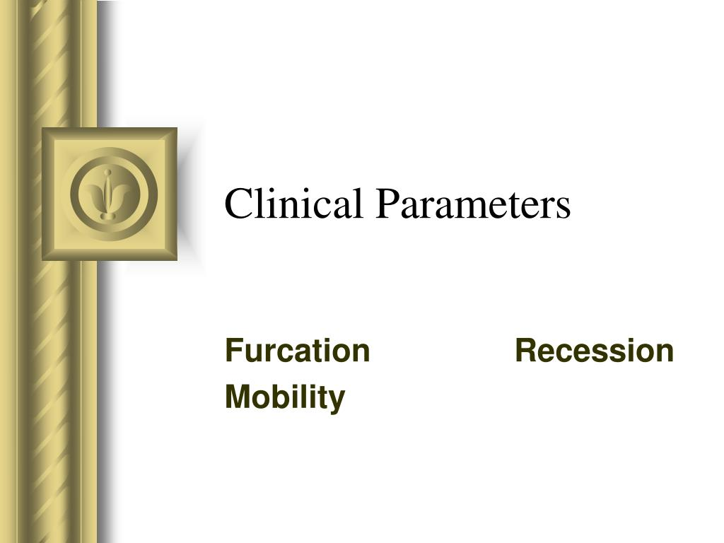 clinical parameters l.