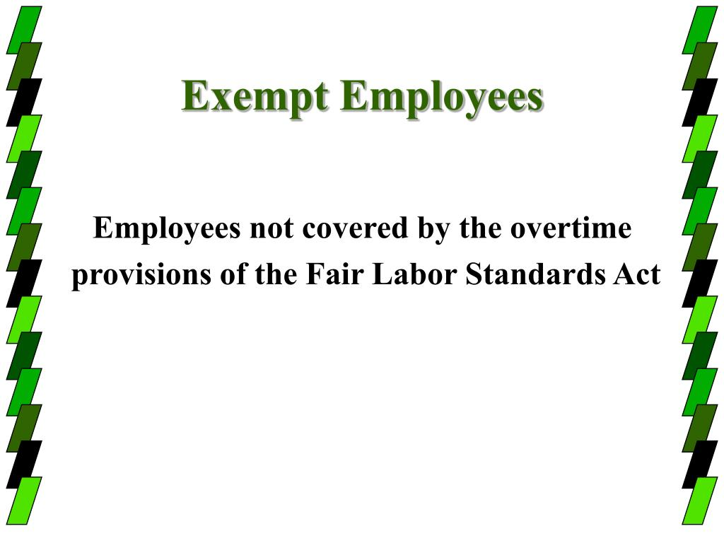 Exempt Employees
