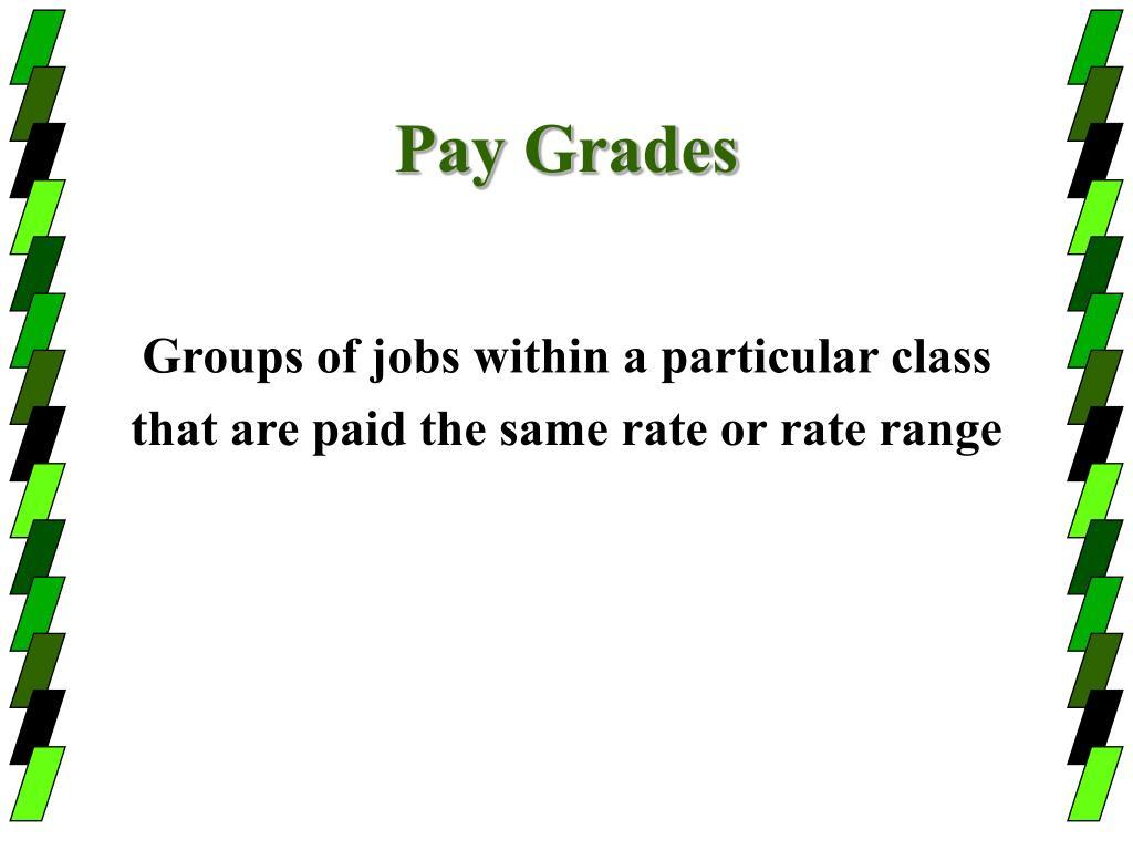 Pay Grades