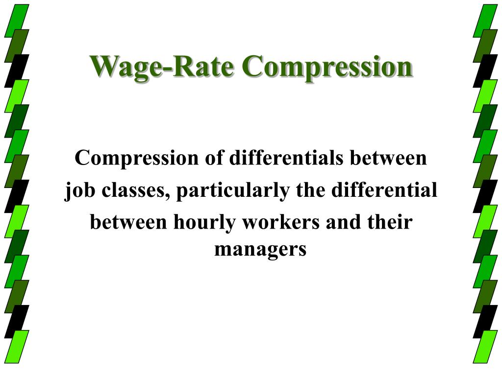 Wage-Rate Compression