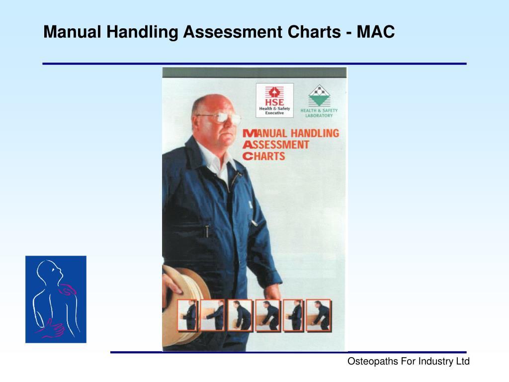 Manual Handling Assessment Charts - MAC