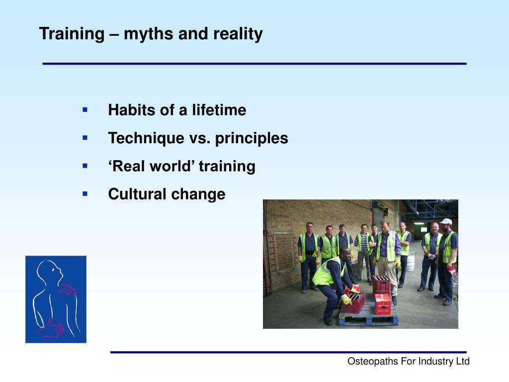 Training – myths and reality