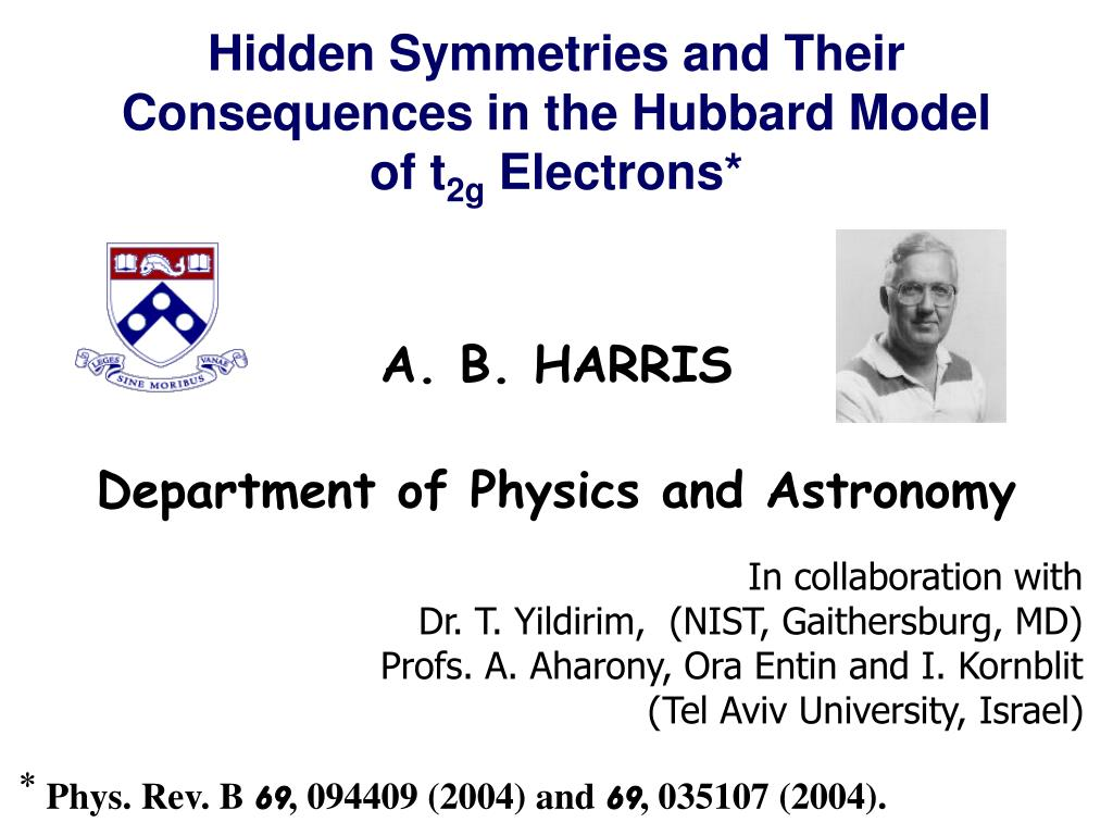 hidden symmetries and their consequences in the hubbard model of t 2g electrons l.