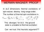 mermin wagner proof