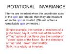 rotational invariance