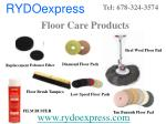 floor care products
