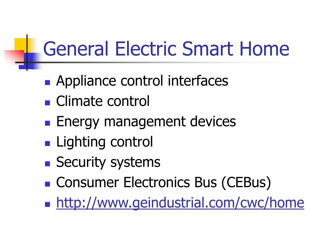 General Electric Smart Home