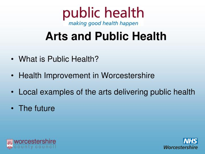 Arts and public health