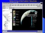 searching information sources