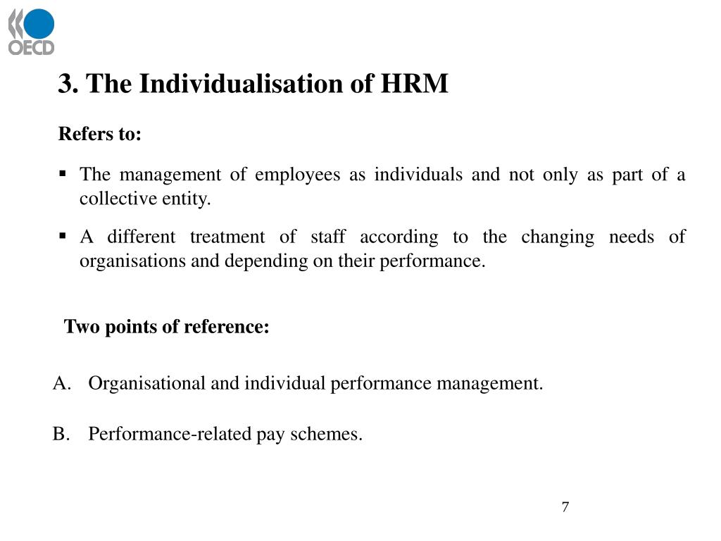 3. The Individualisation of HRM