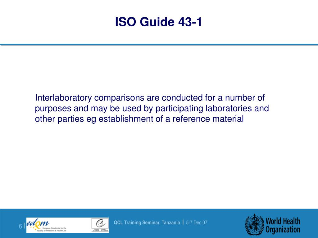 ISO Guide 43-1