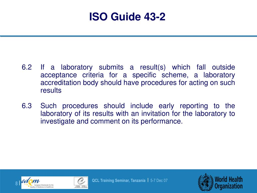 ISO Guide 43-2