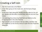 creating a self join