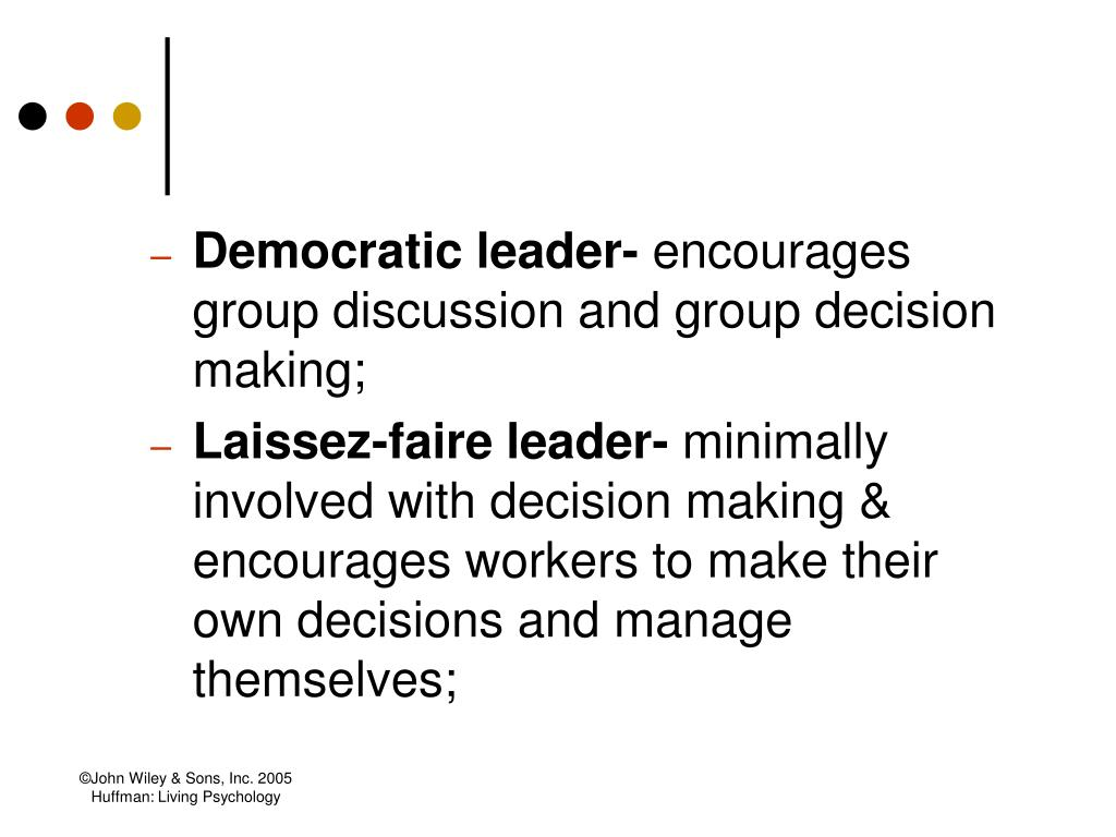 Democratic leader-