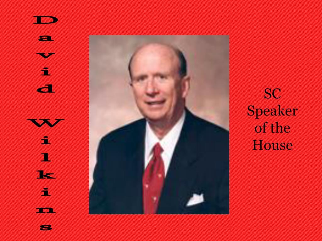 SC Speaker of the House
