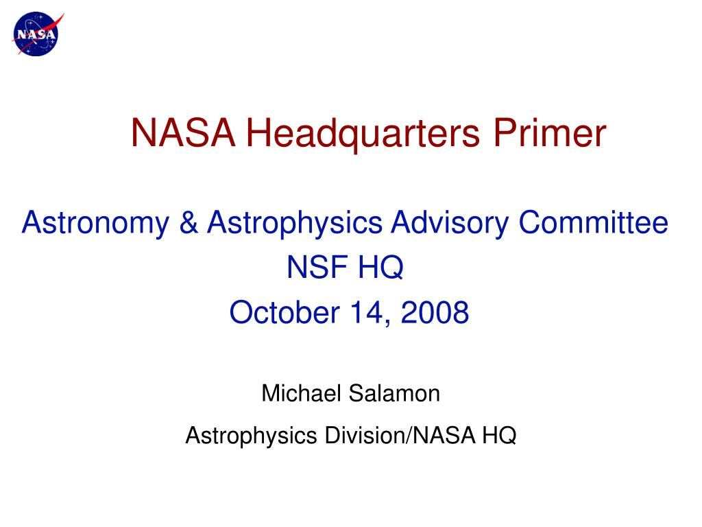 nasa headquarters primer l.