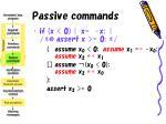 passive commands26