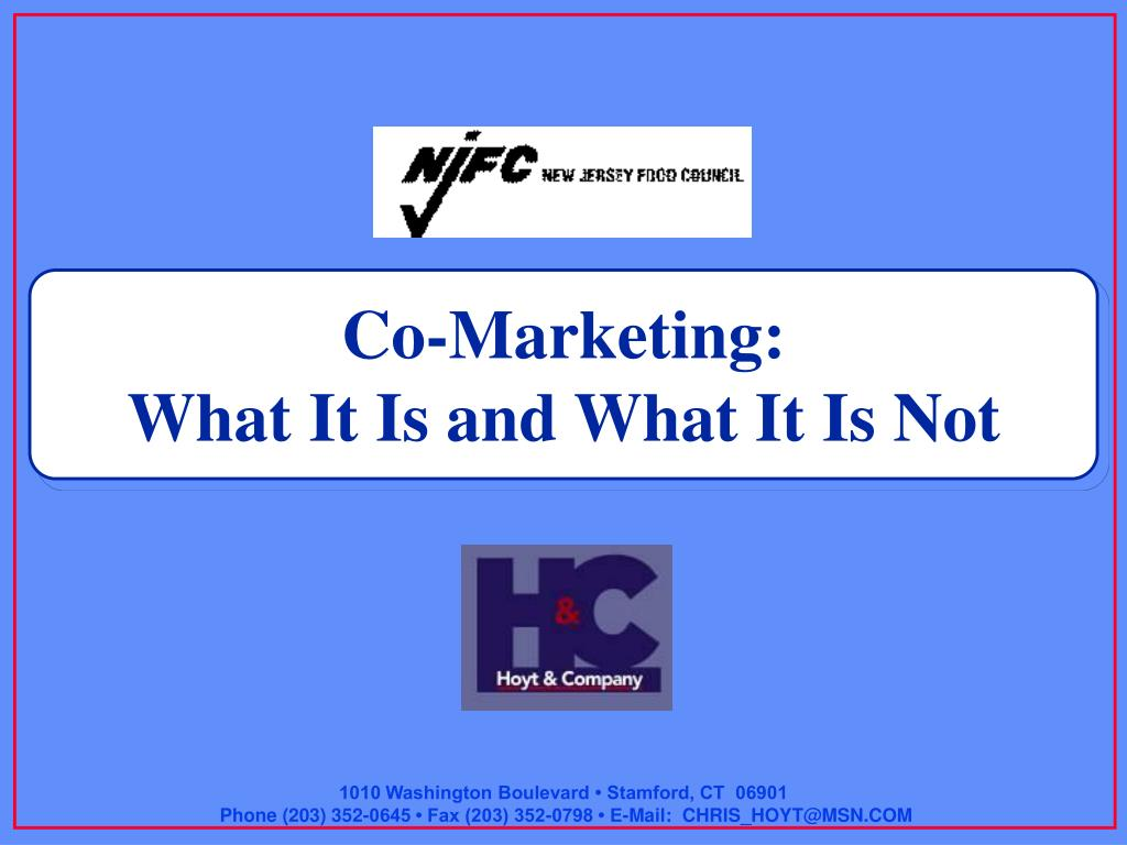 Co-Marketing: