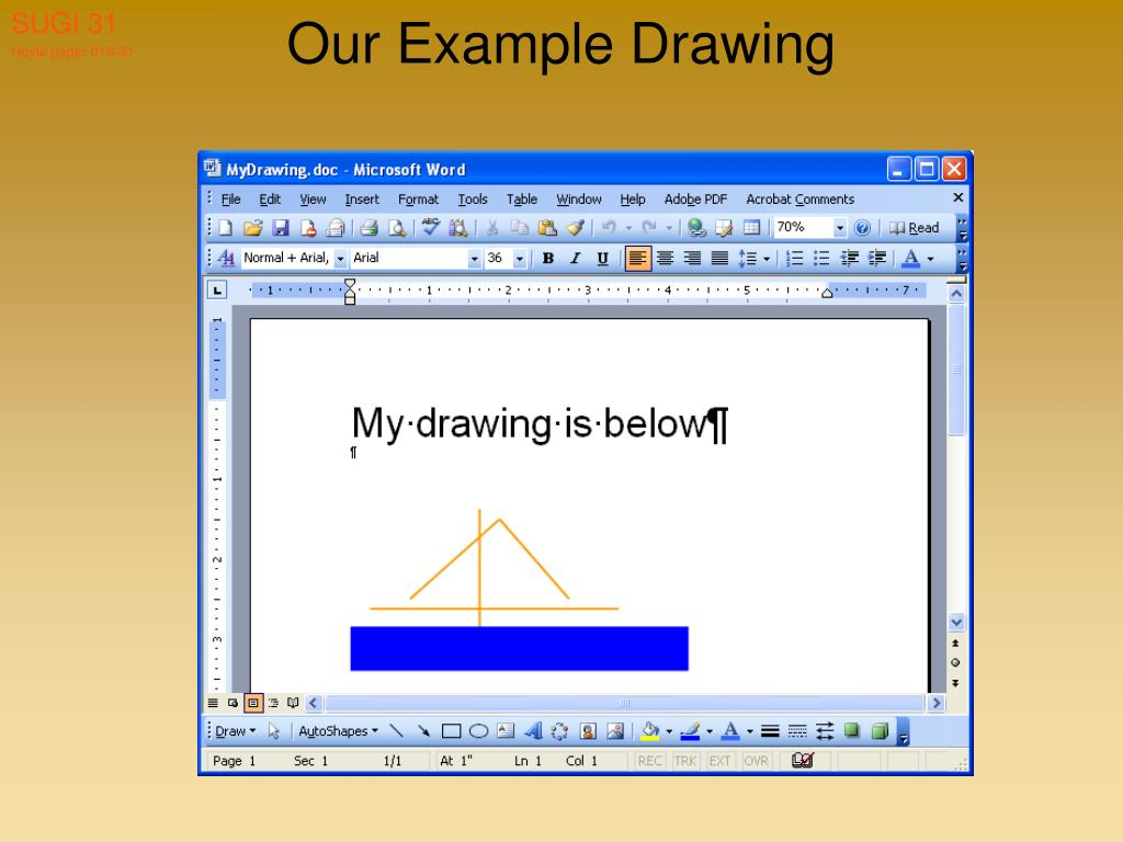 Our Example Drawing