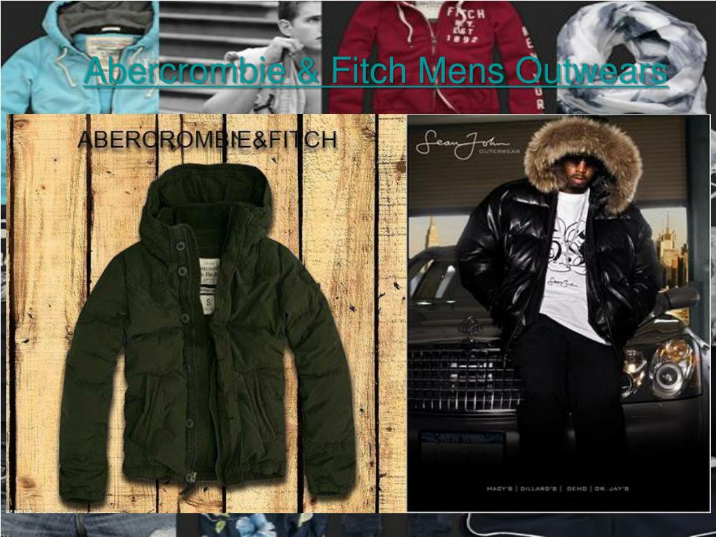 abercrombie fitch mens outwears l.