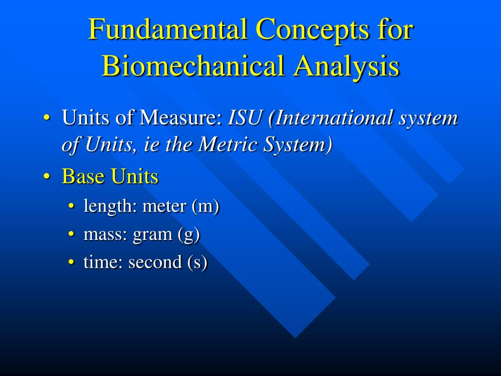 Fundamental Concepts for