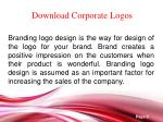 download corporate logos
