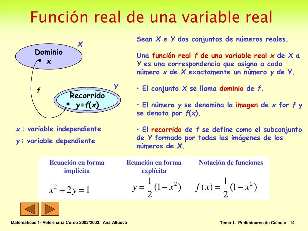 Ecuación en forma implícita