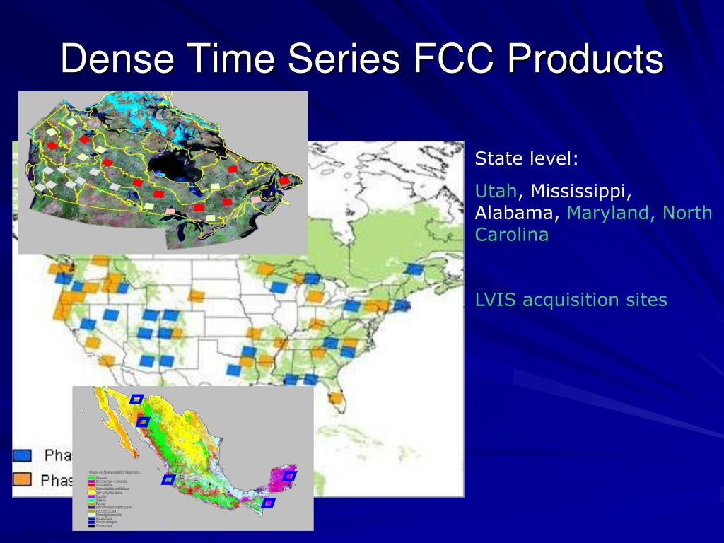 Dense Time Series FCC Products