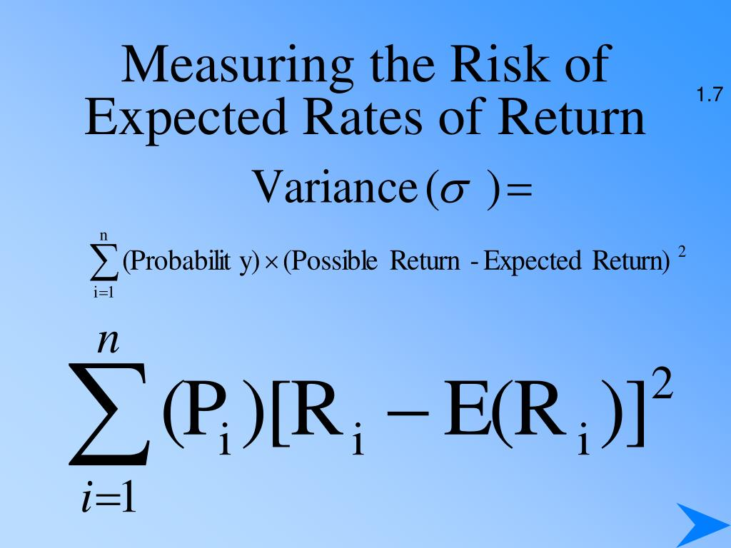 Measuring the Risk of