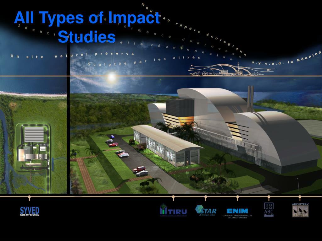 All Types of Impact Studies