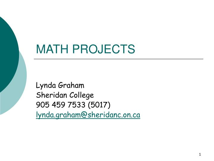 math projects n.