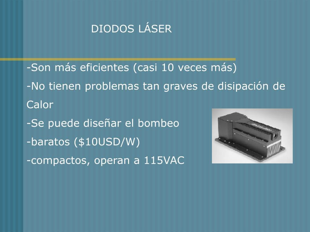 DIODOS LÁSER