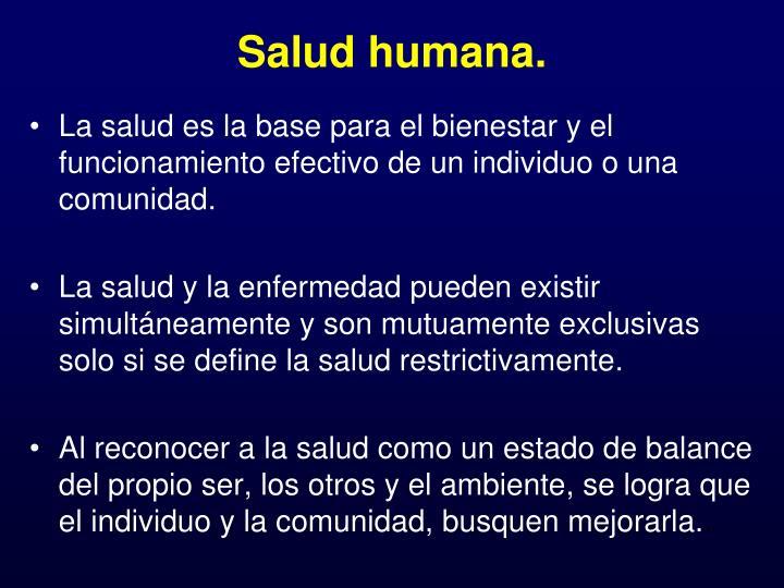Salud humana3