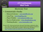 at continuum mid tech31