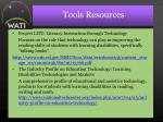tools resources57