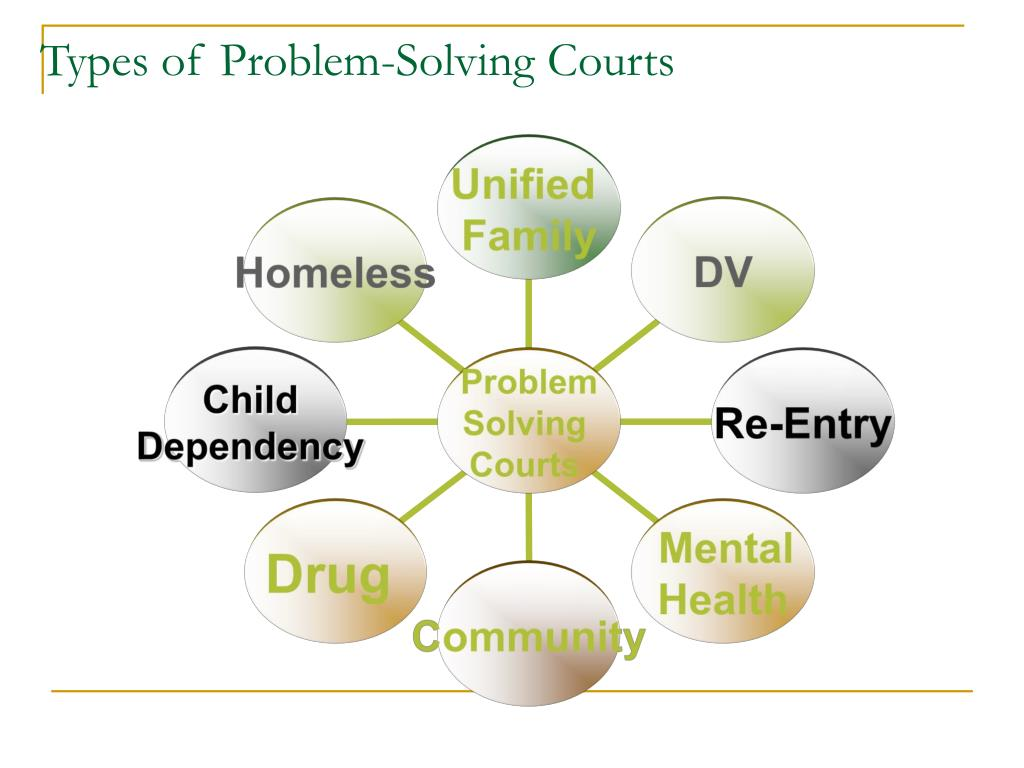 Types of Problem-Solving Courts