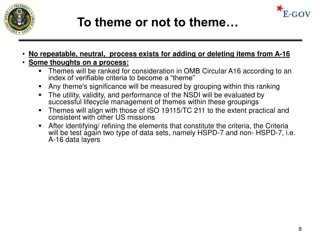 To theme or not to theme…
