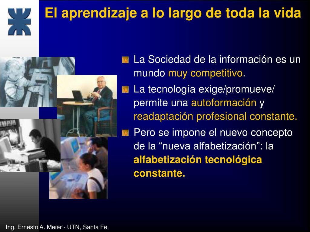 La Sociedad de la información es un mundo