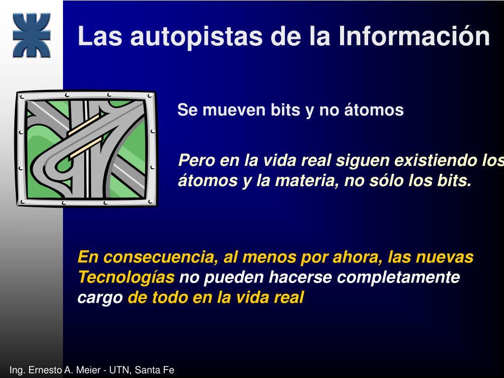 Las autopistas de la Información