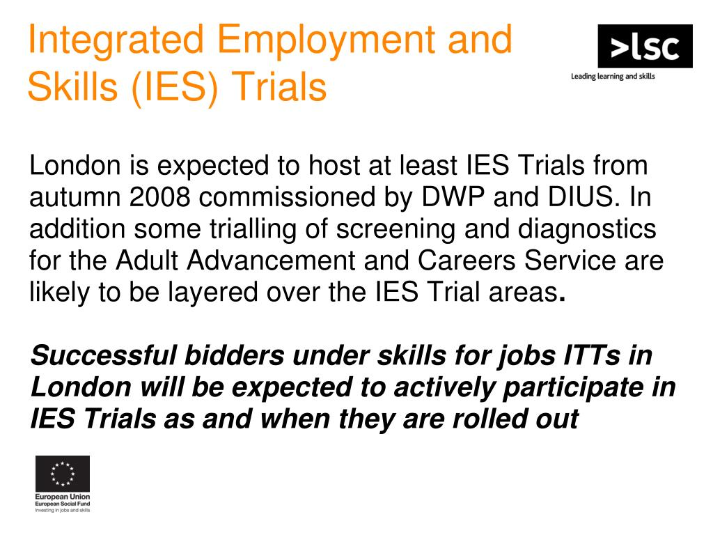 Integrated Employment and