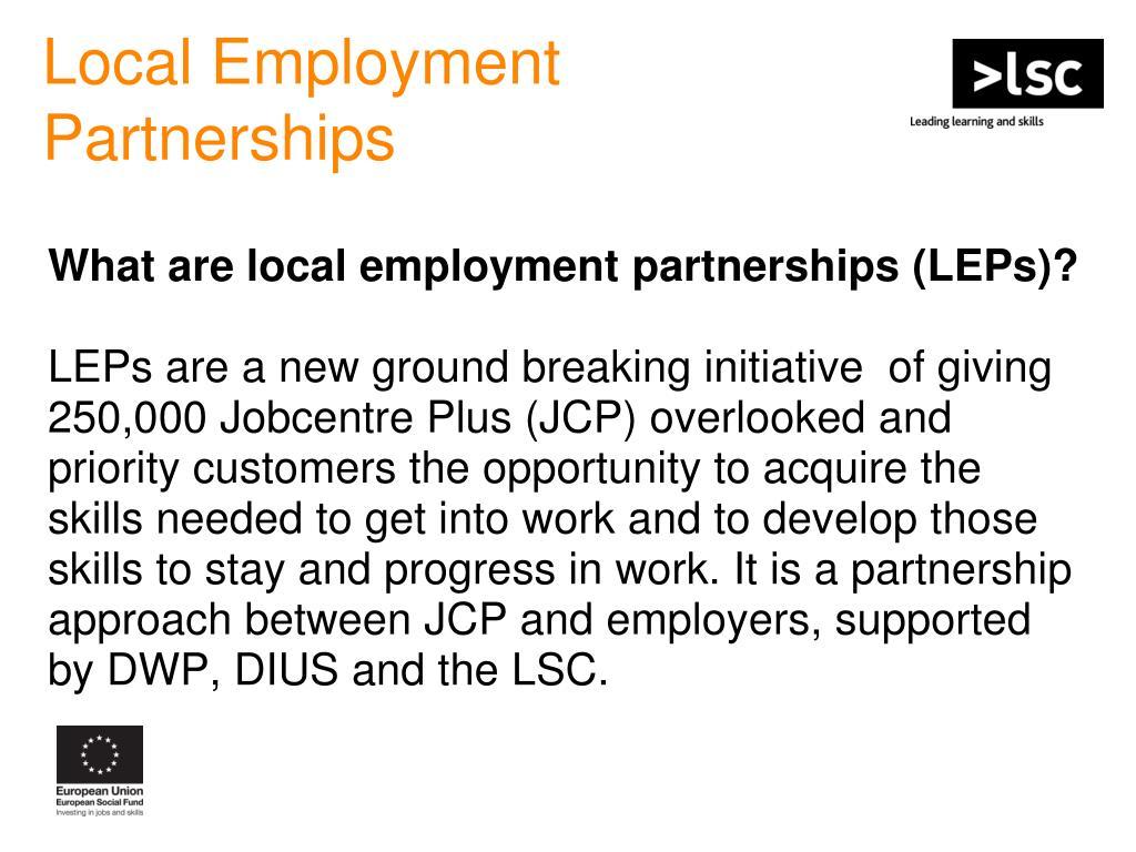 Local Employment