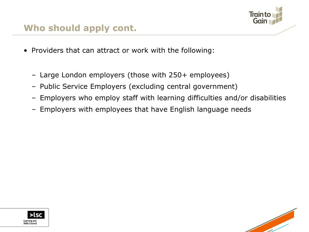 Who should apply cont.