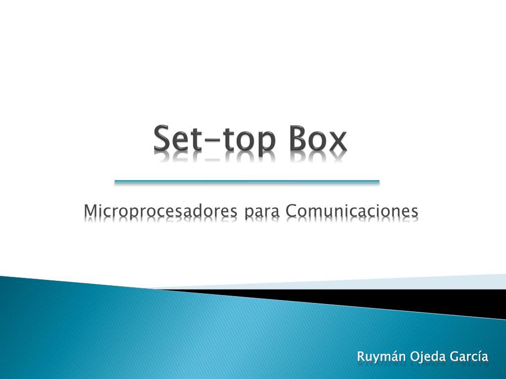 set top box l.