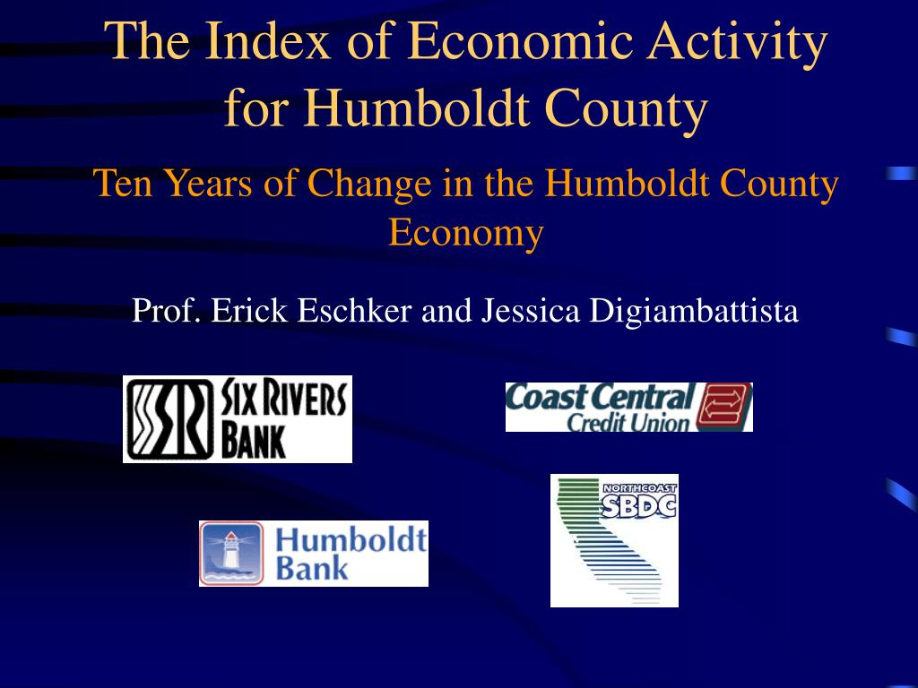 ten years of change in the humboldt county economy