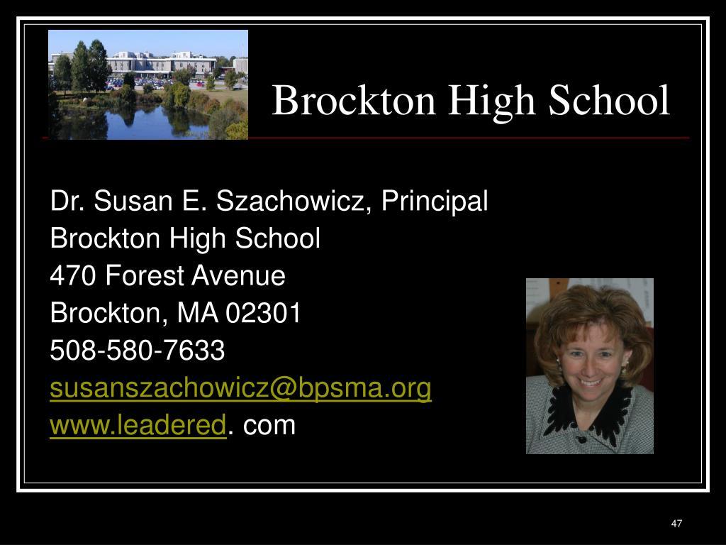 Brockton High School