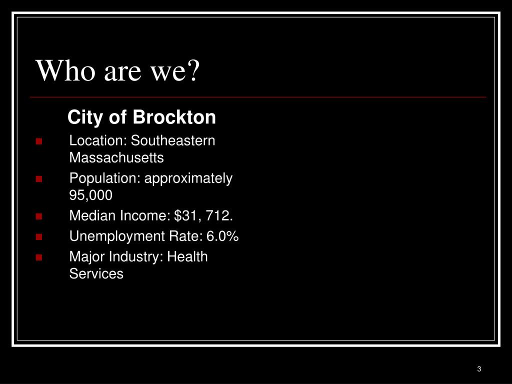 City of Brockton