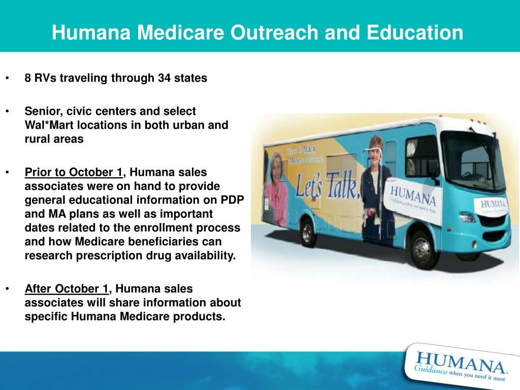 Humana Medicare Outreach and Education