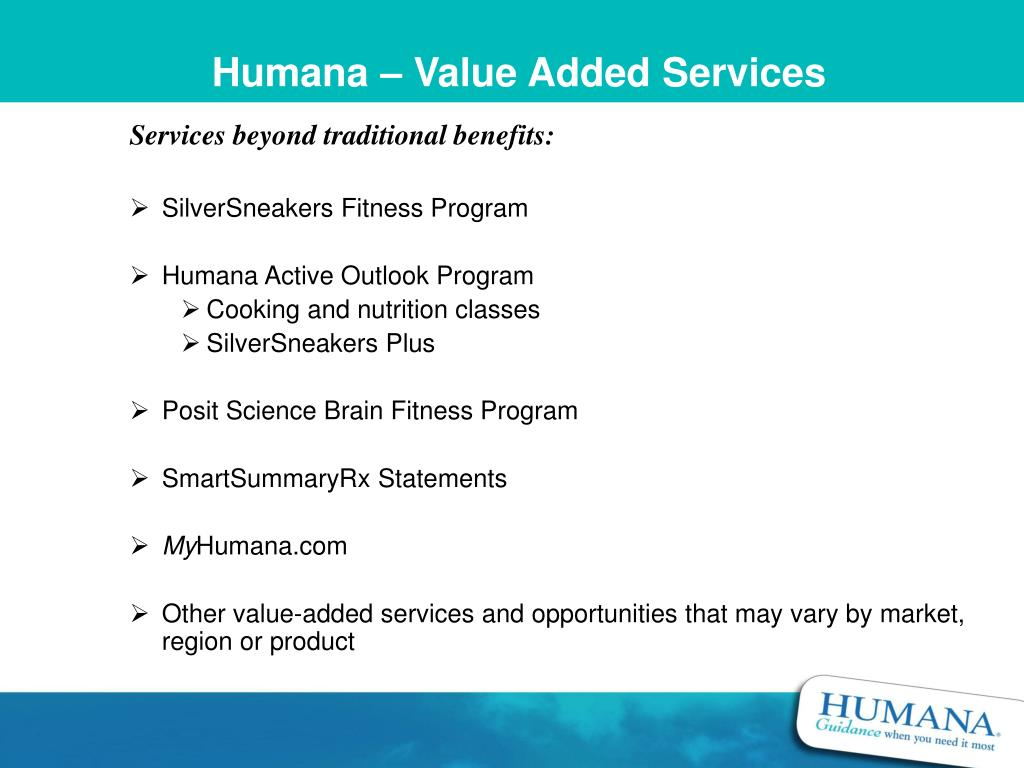 Humana – Value Added Services