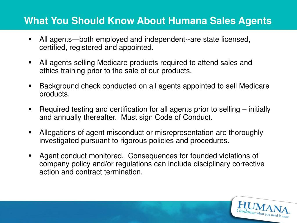 What You Should Know About Humana Sales Agents