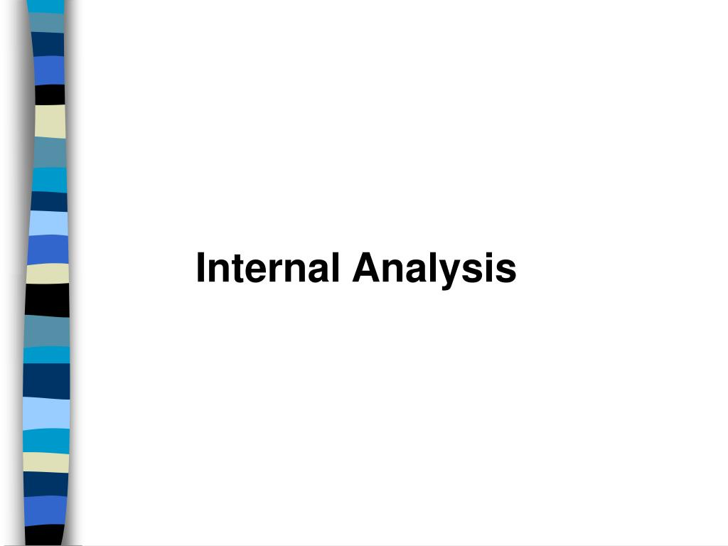 Internal Analysis
